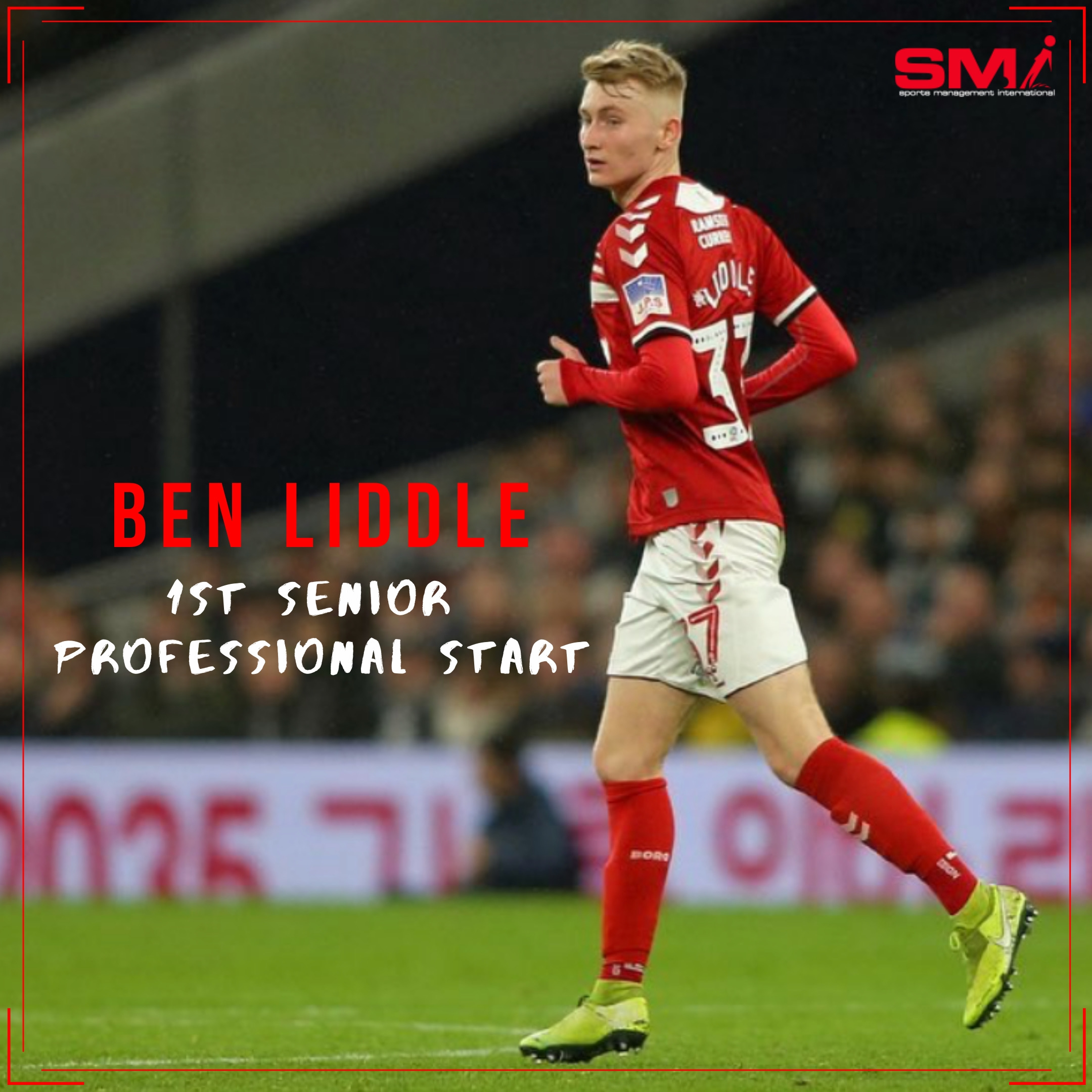 Ben Liddle 1st professional start