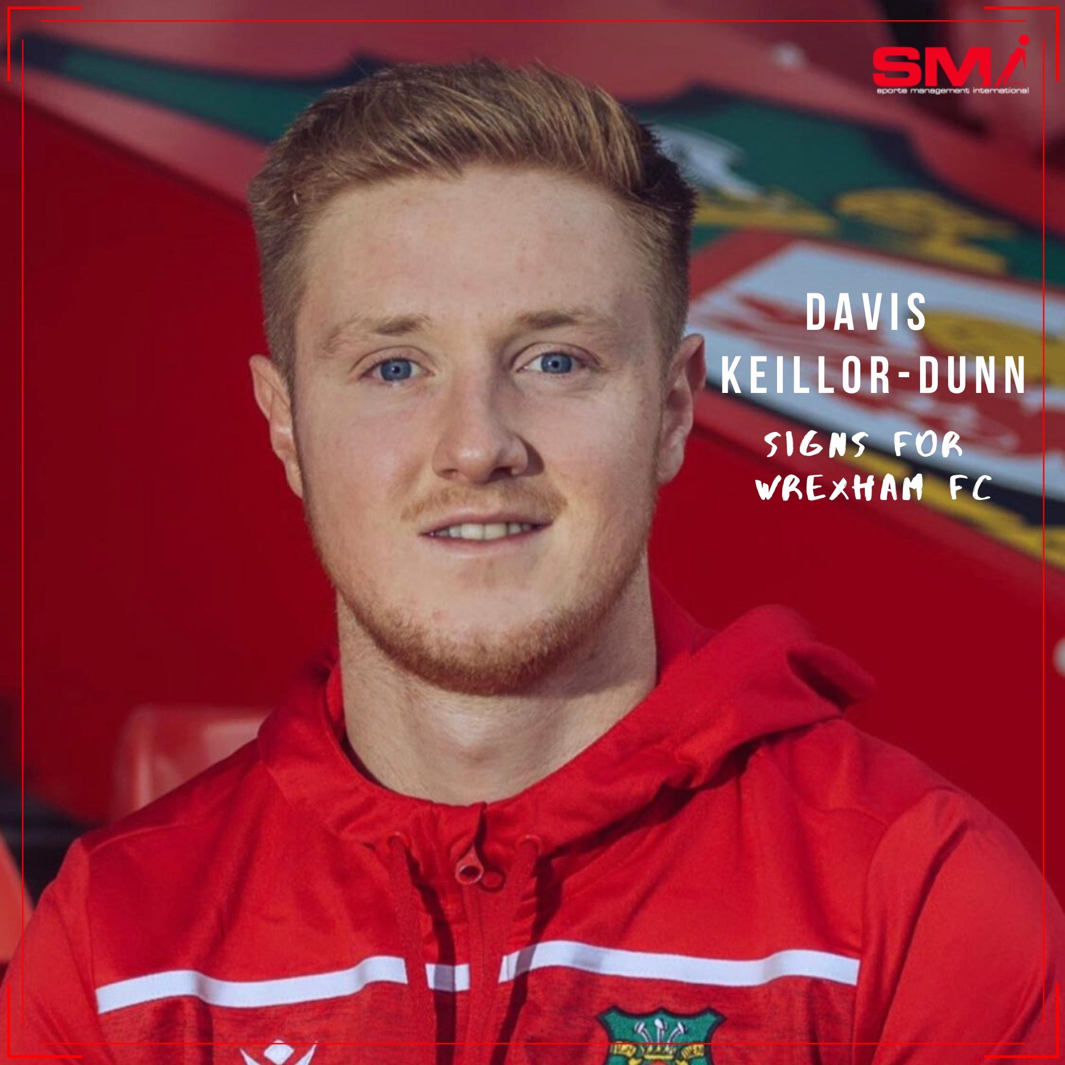 Davis Keillor-Dunn signs for Wrexham