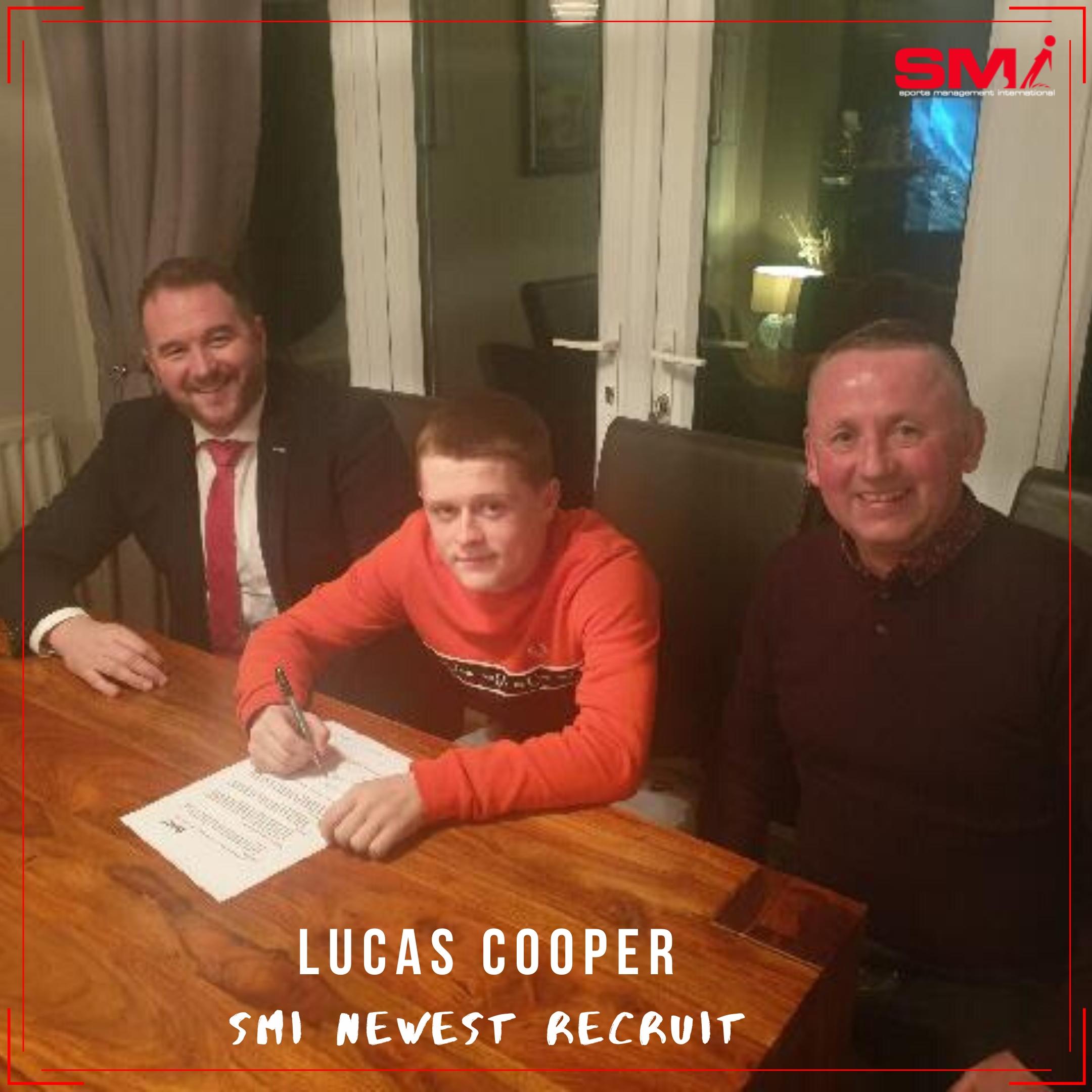 SMI newest recruit Lucas Cooper