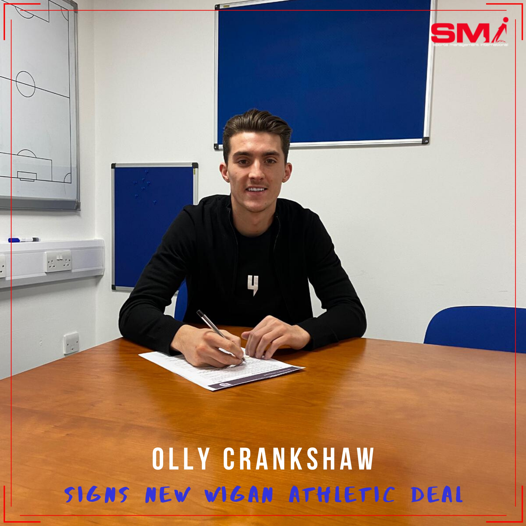 New Wigan contract for Olly Crankshaw