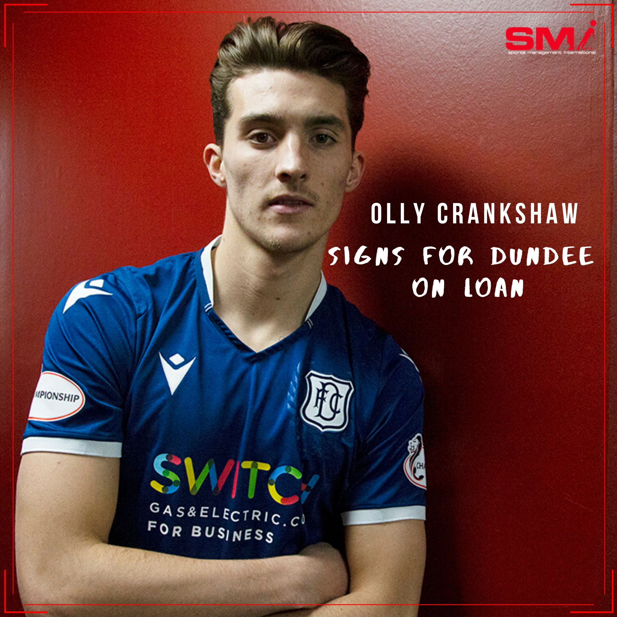 Loan move for Olly Crankshaw to Dundee