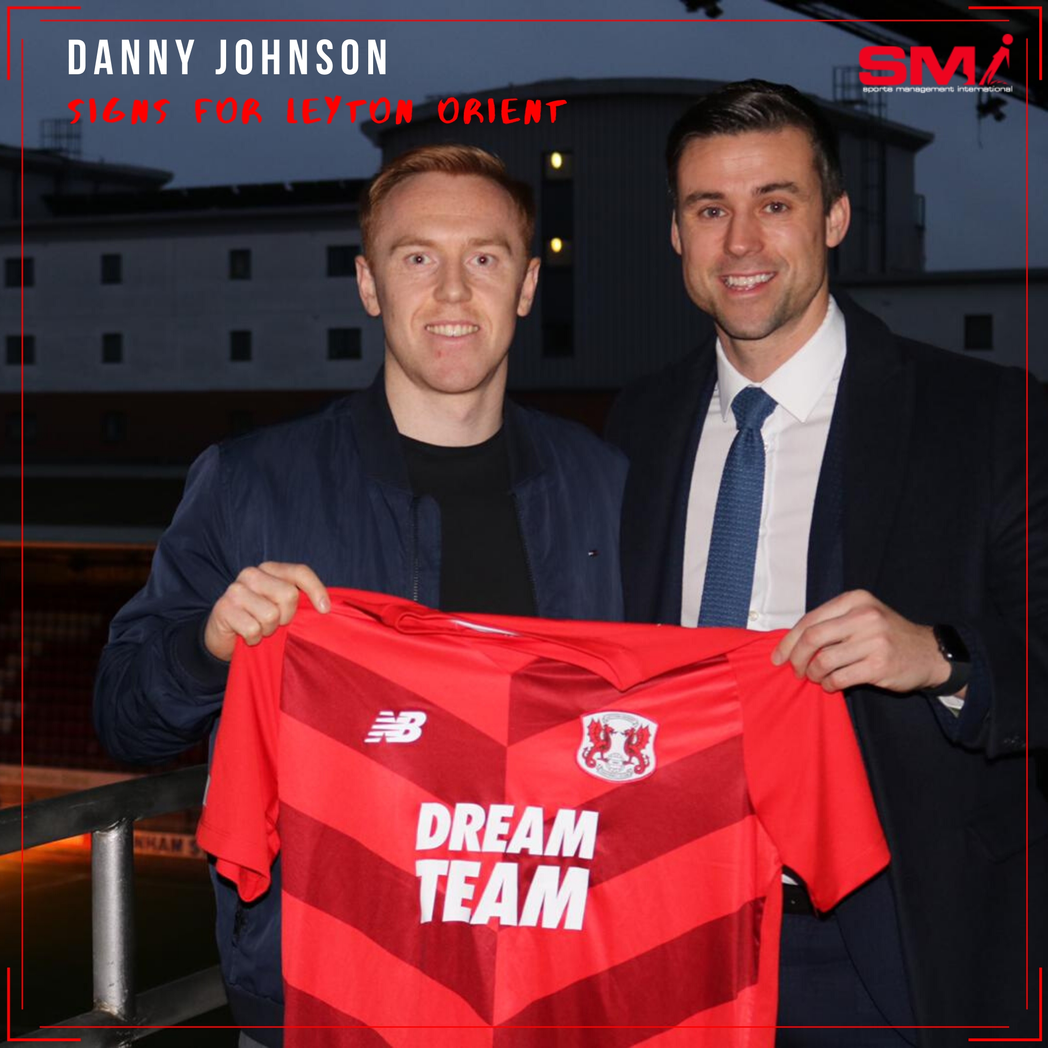Danny Johnson moves south to Leyton Orient