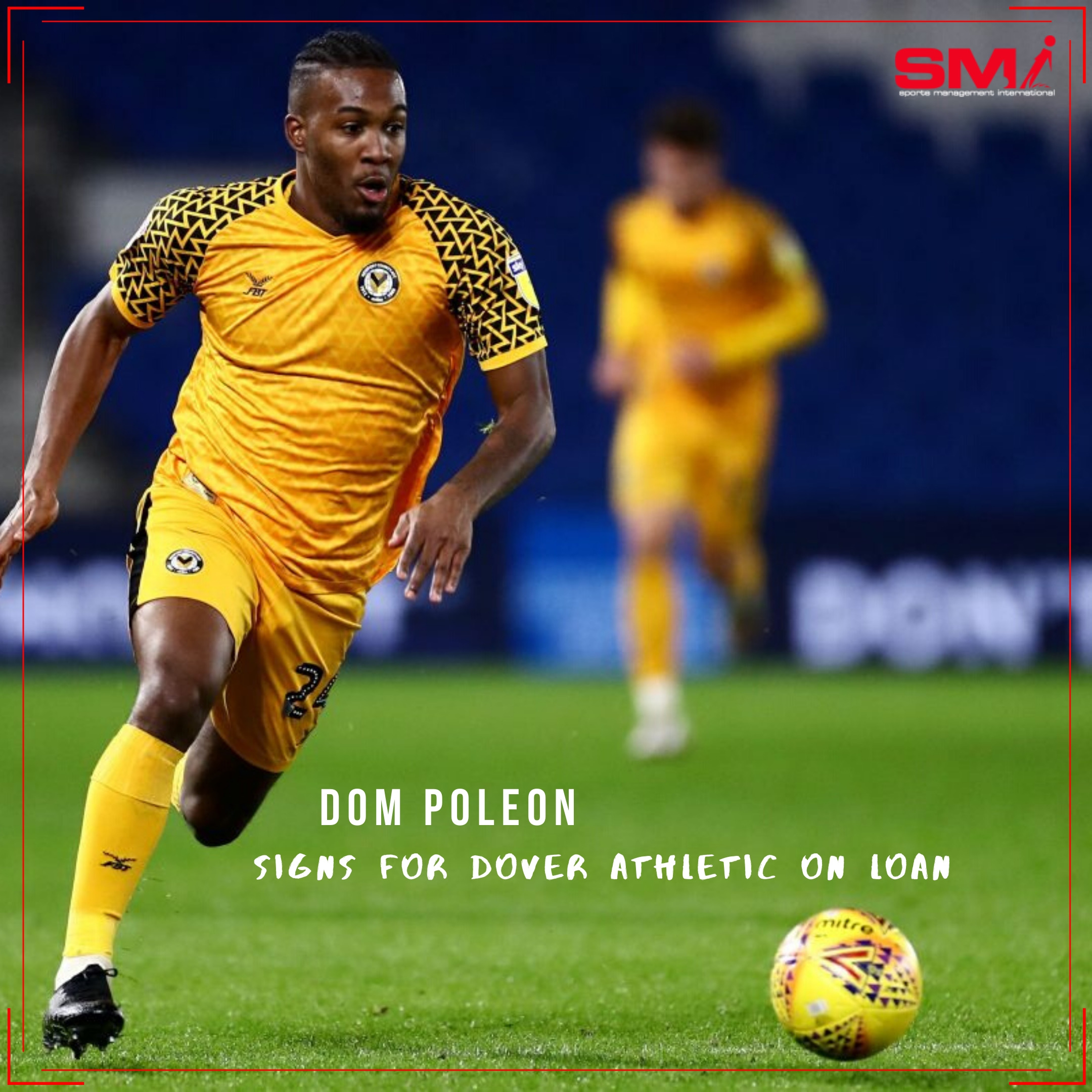 Dom Poleon signs for Dover on loan