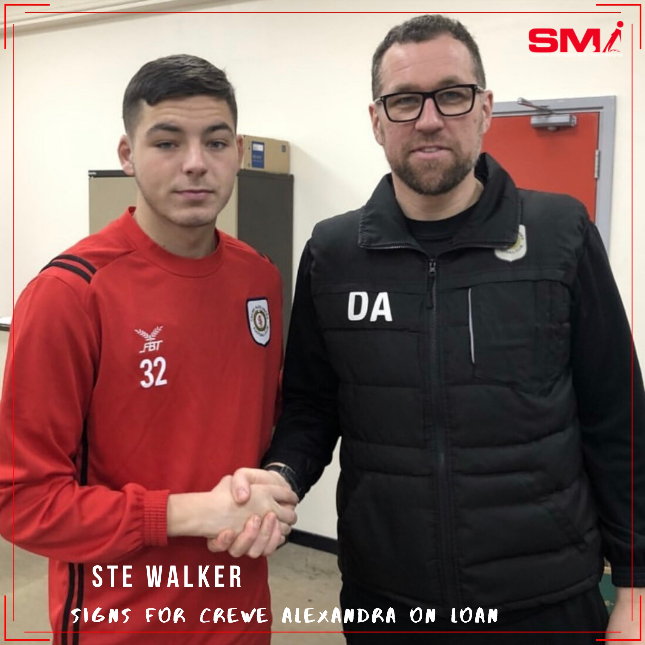 Ste Walker on the move to Crewe