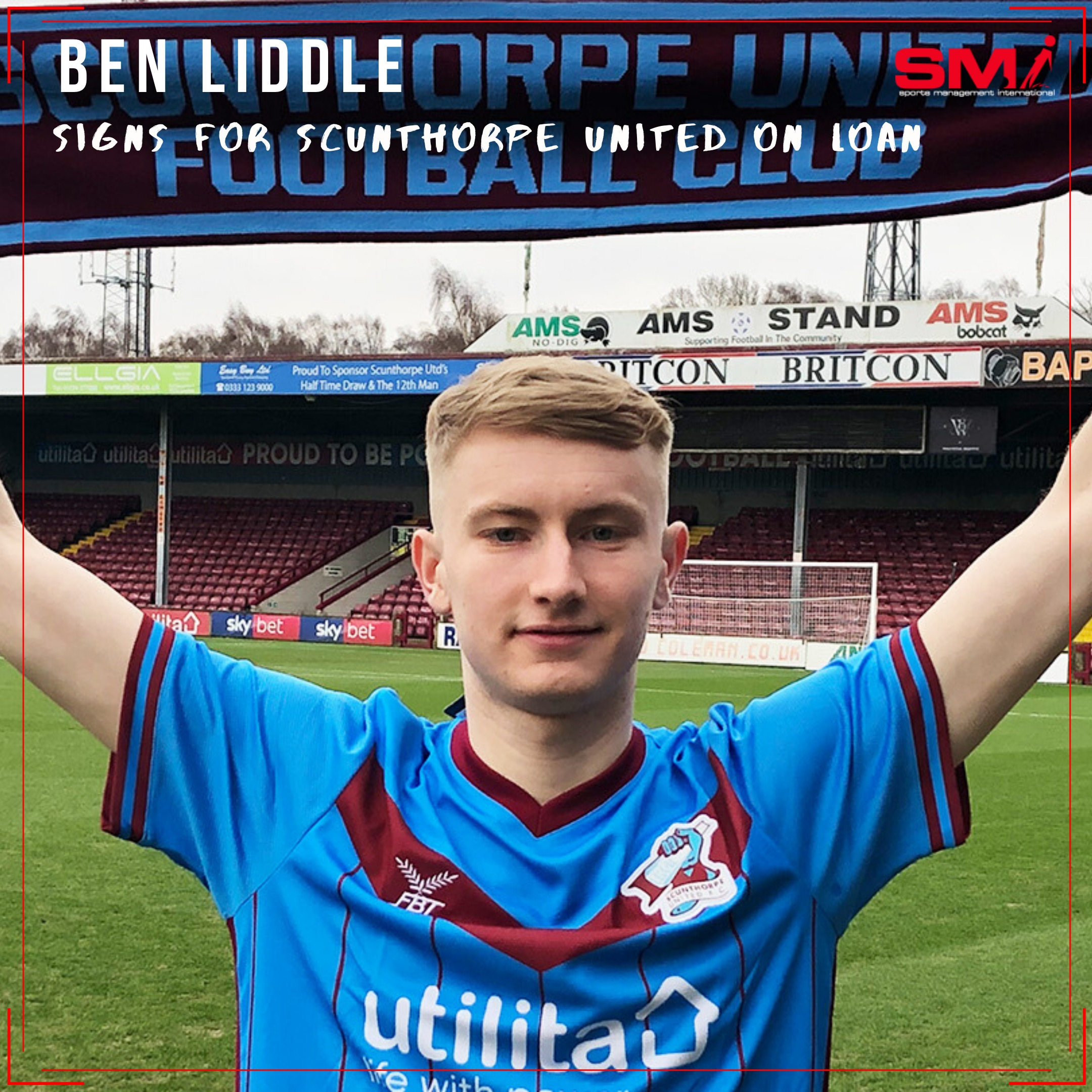 Ben Liddle seals move to Scunthorpe on loan