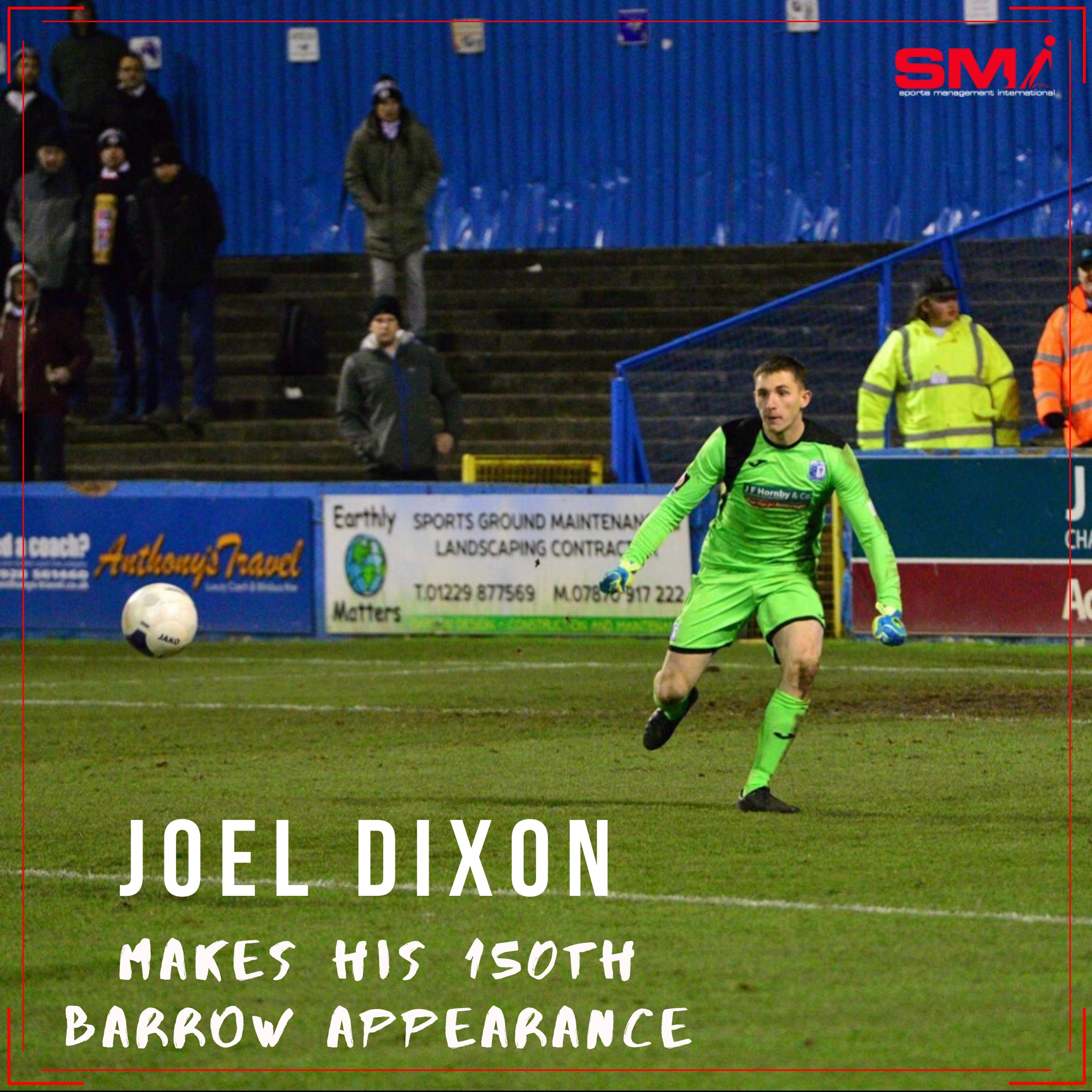 Joel Dixon milestone