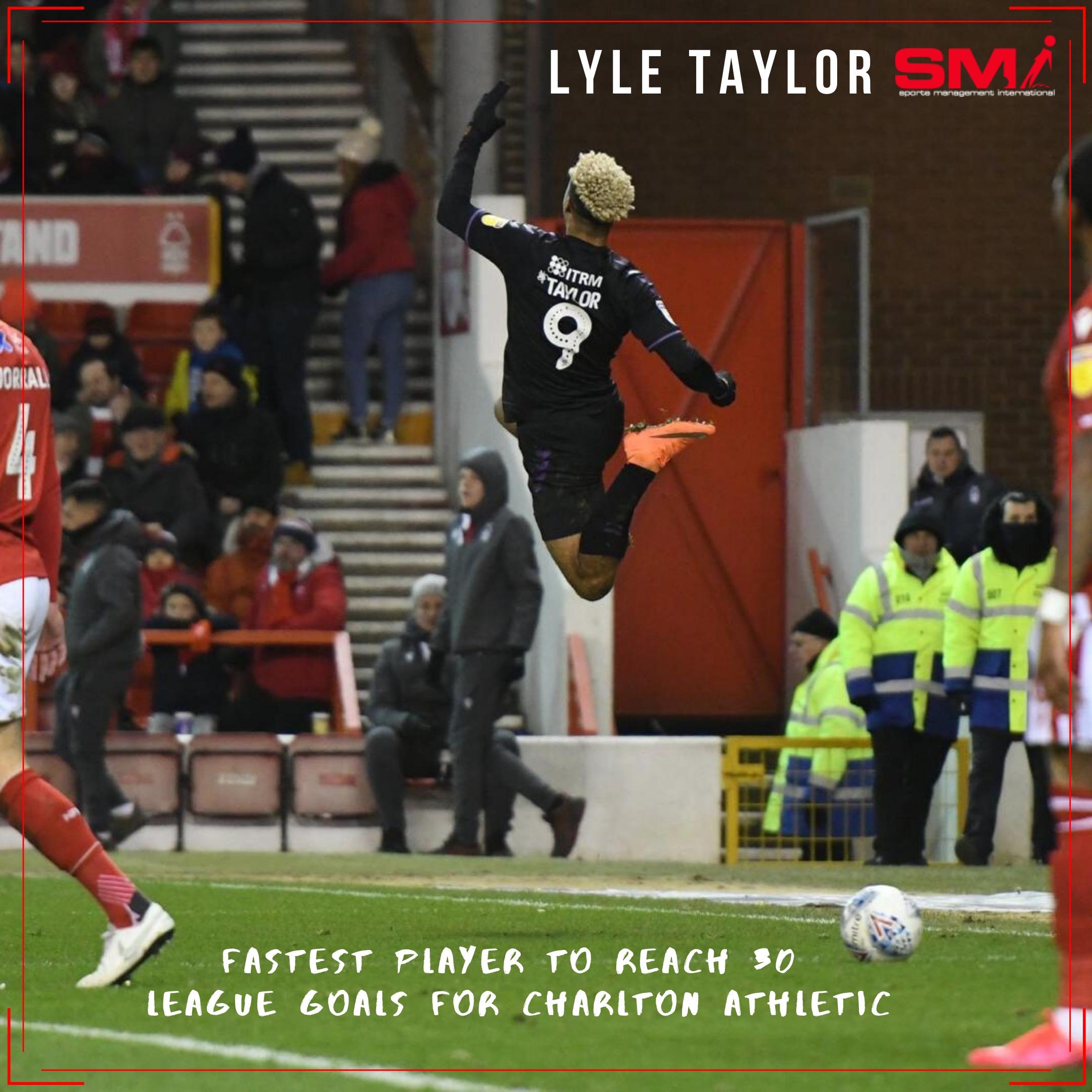 Lyle Taylor Charlton Athletic goal record