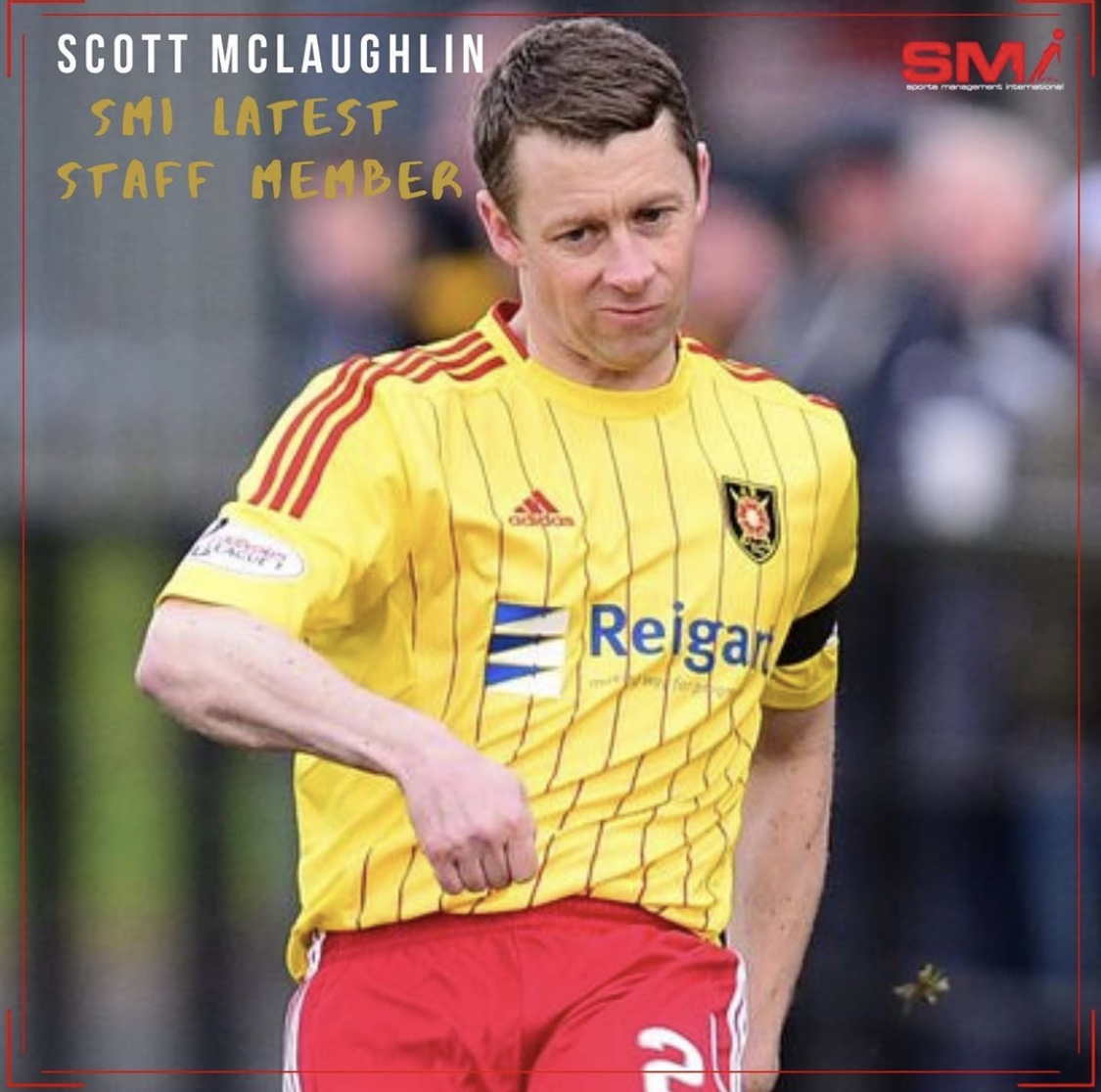 SMI Newest Staff member Scott McLaughlin