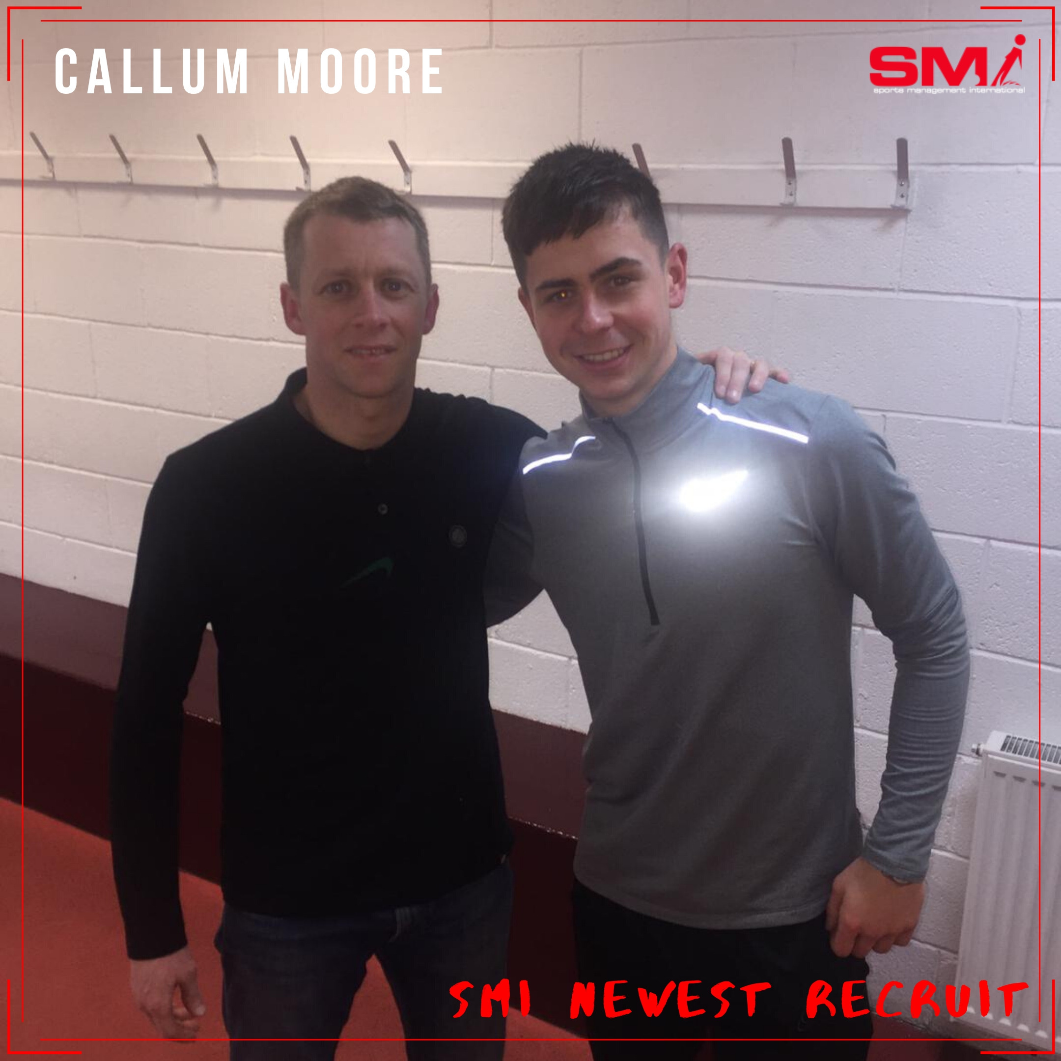 SMI newest recruit Callum Moore