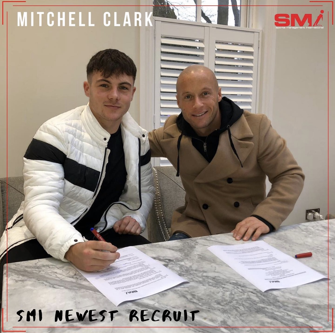 SMI new recruit Mitchell Clark