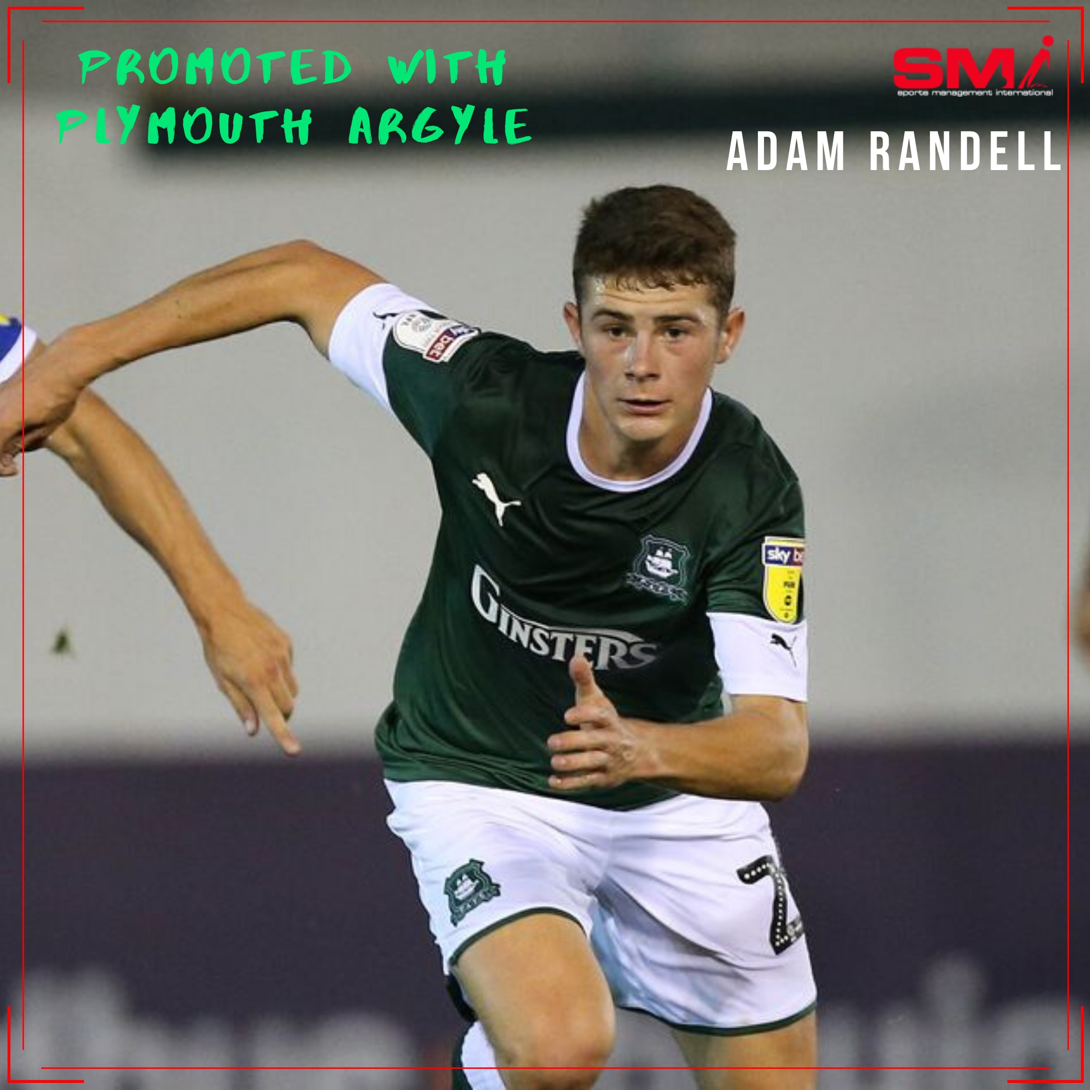 Adam Randell Promotion with Plymouth