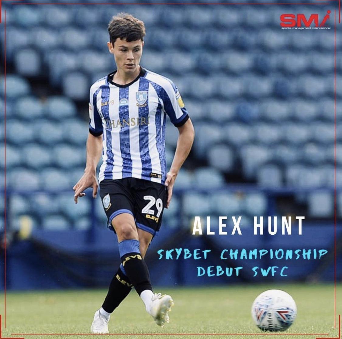 Alex Hunt makes SkyBet Championship debut
