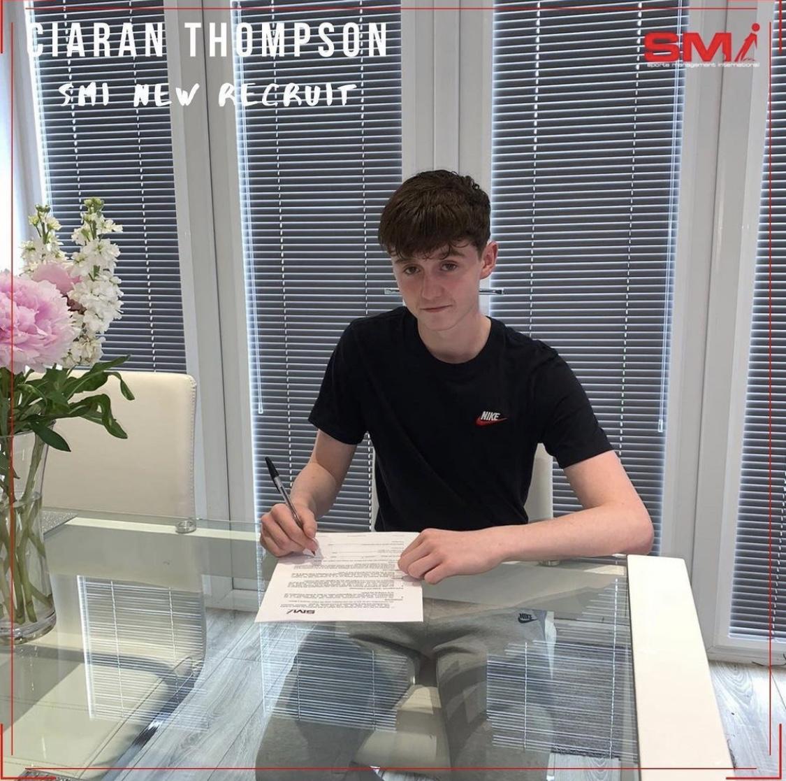 SMI New recruit Ciaran Thompson