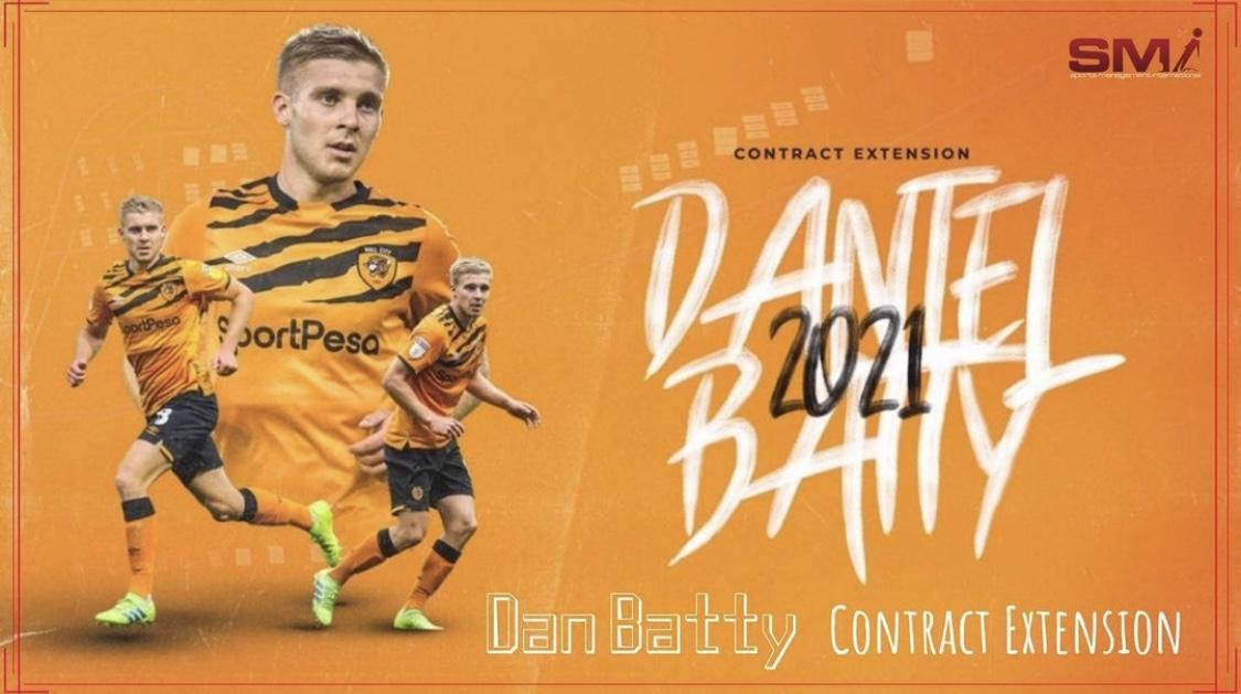 Dan Batty contract extension