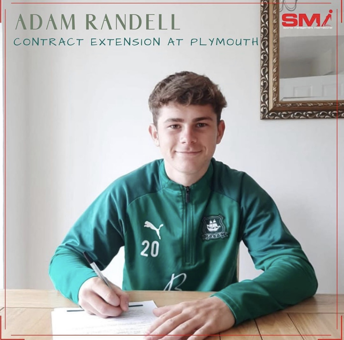 Adam Randell contract extension at PAFC