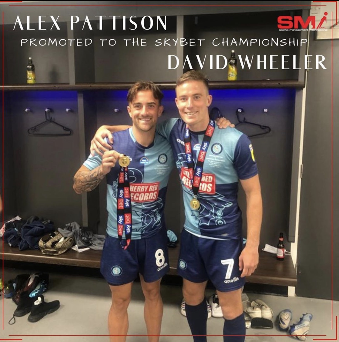 Alex Pattison & David Wheeler promoted with Wycombe