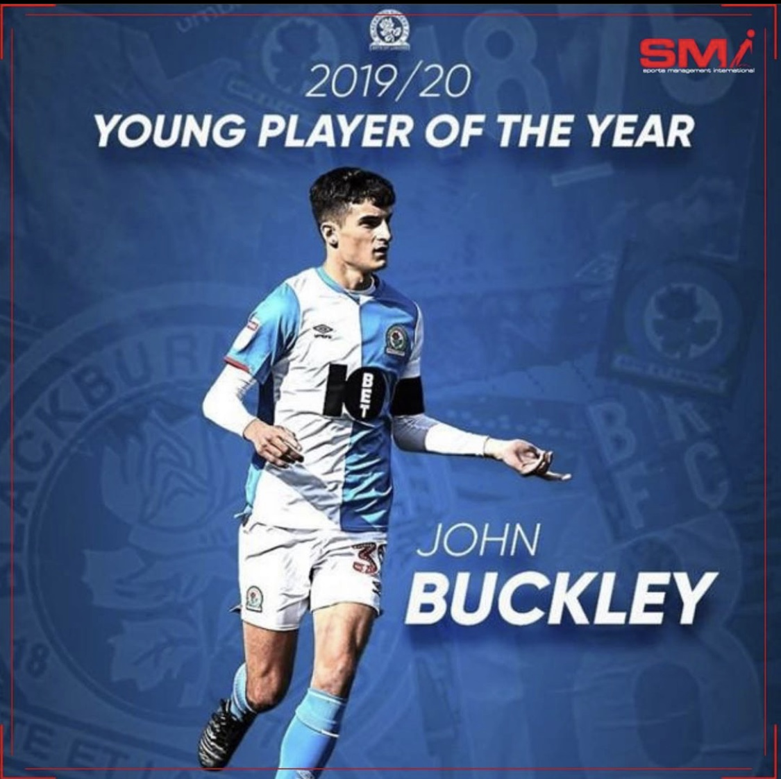 John Buckley young player of the year