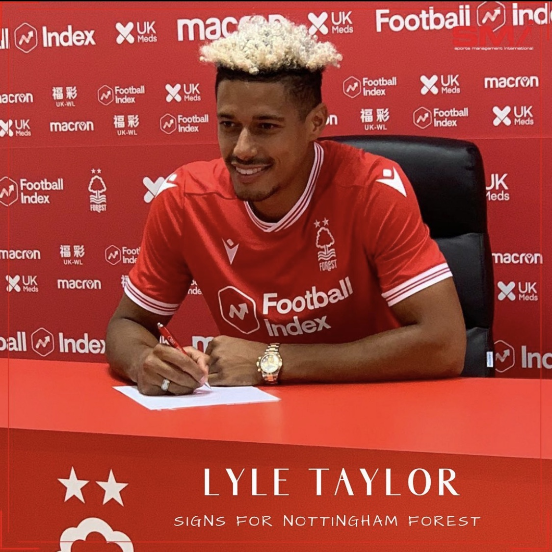 Lyle Taylor to Nottingham Forest
