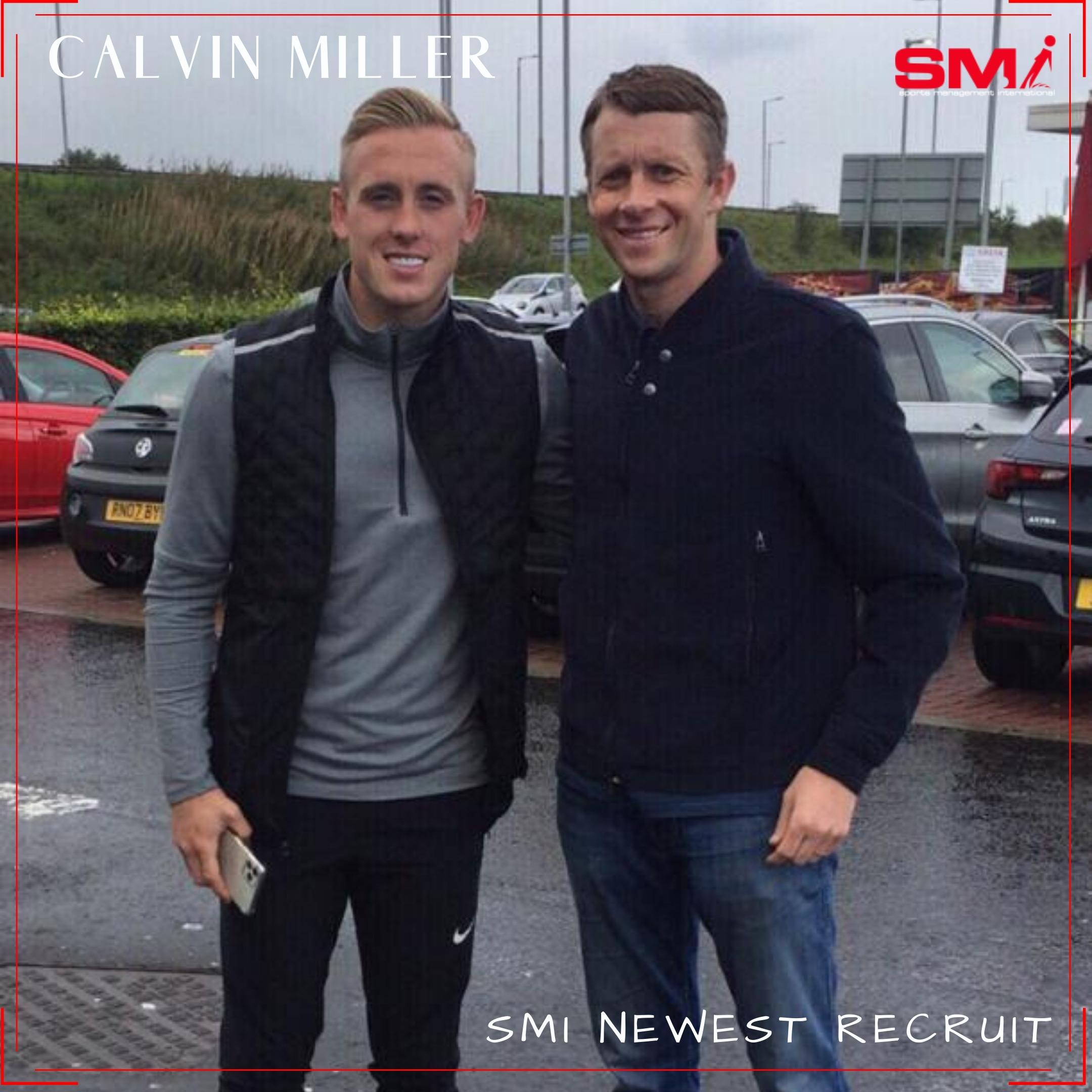 SMI Newest recruit Calvin Miller