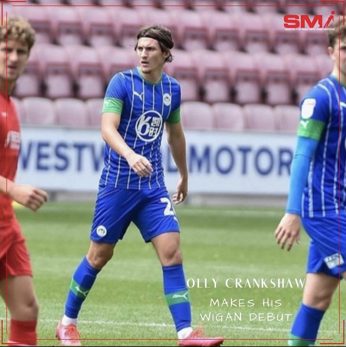 Olly Crankshaw makes Wigan debut