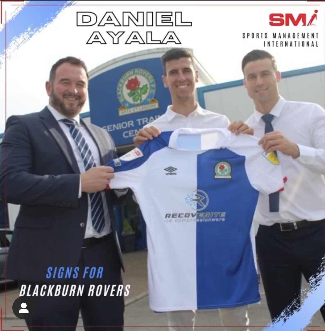 Daniel Ayala signs for Blackburn Rovers