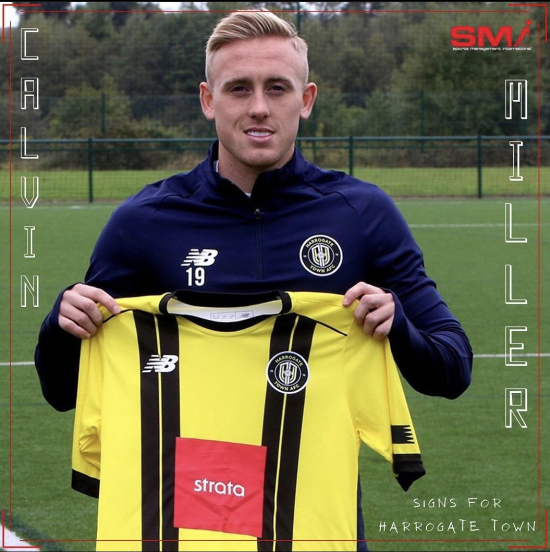 Calvin Miller signs for Harrogate Town