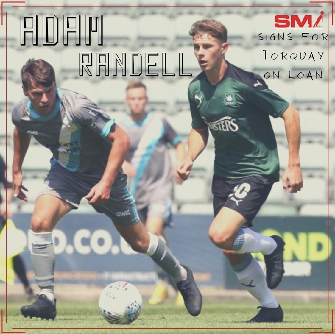 Adam Randell joins Torquay on loan