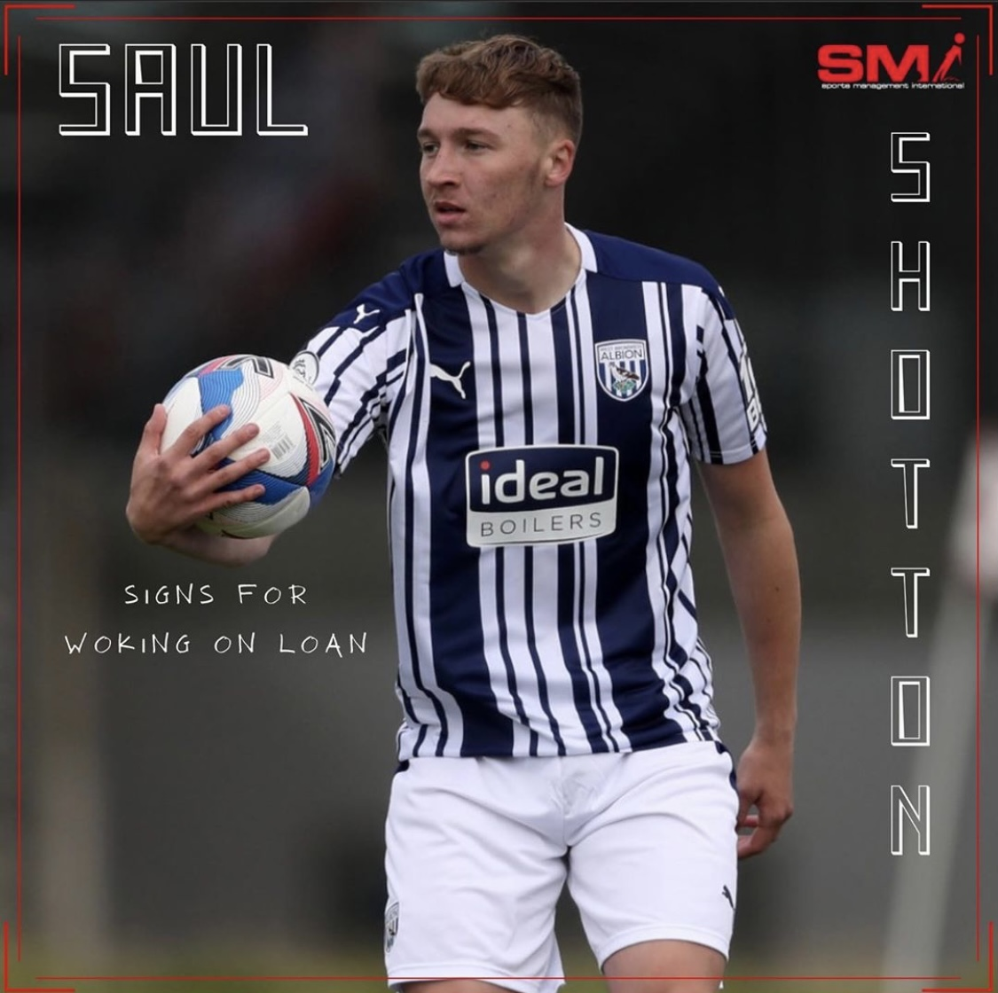 Saul Shotton joins Woking on loan