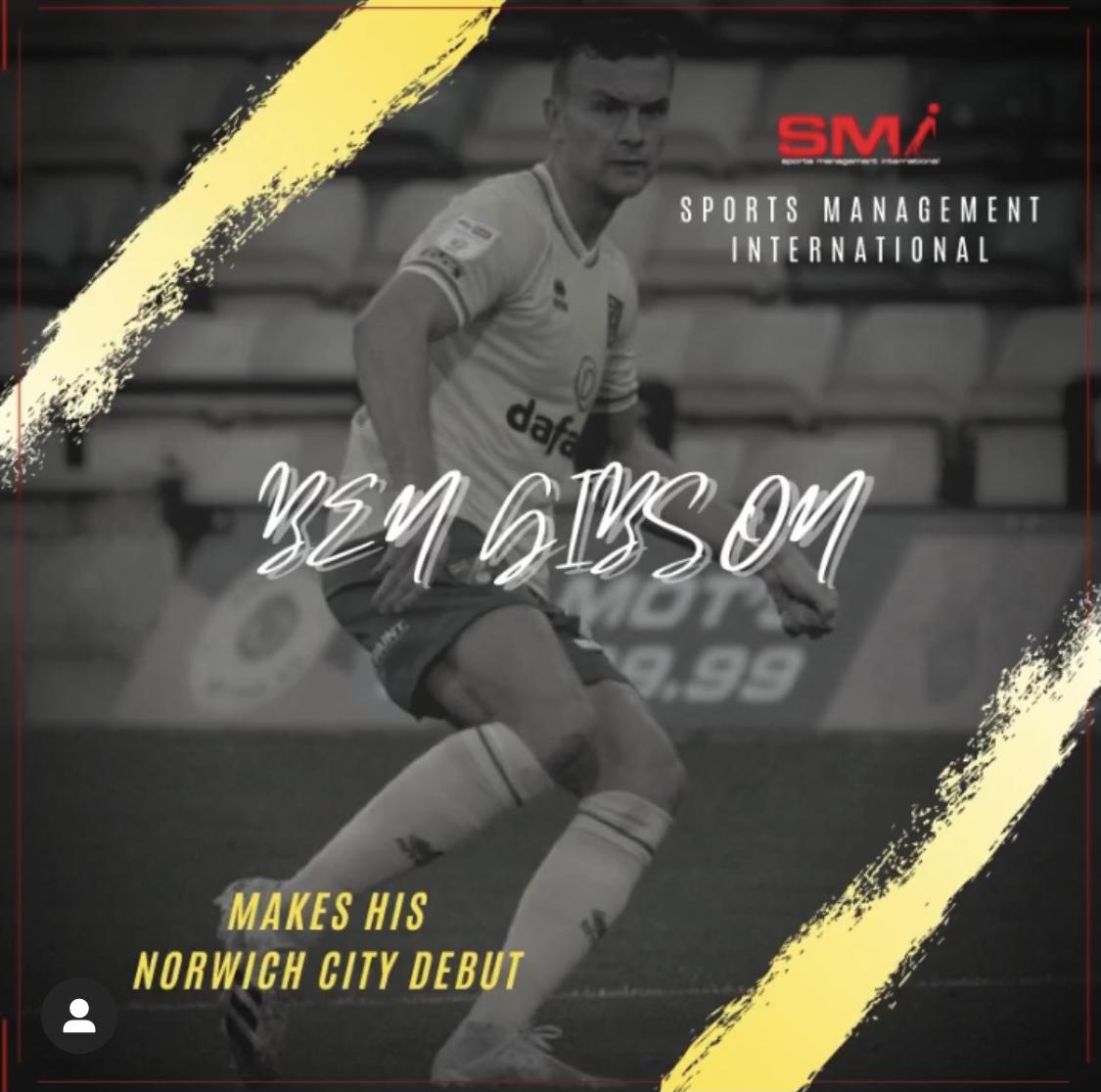 Ben Gibson Norwich debut