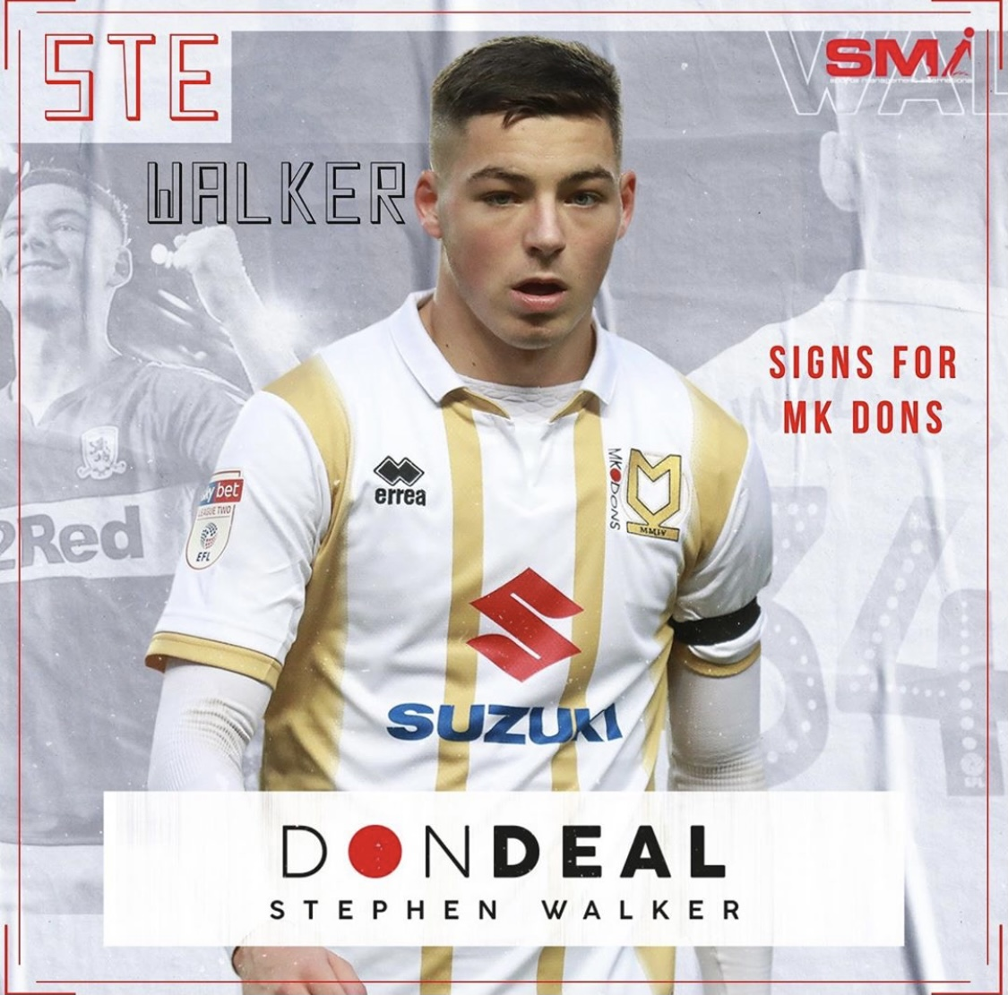 Ste Walker returns to MK Dons on loan