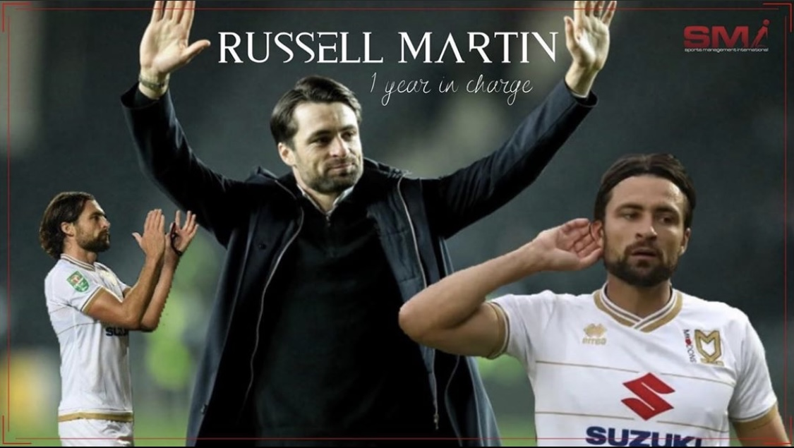 Russell Martin 1 year in charge at MK Dons