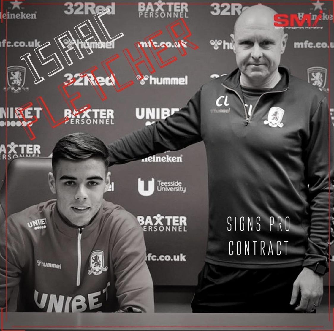 Isaac Fletcher signs pro deal