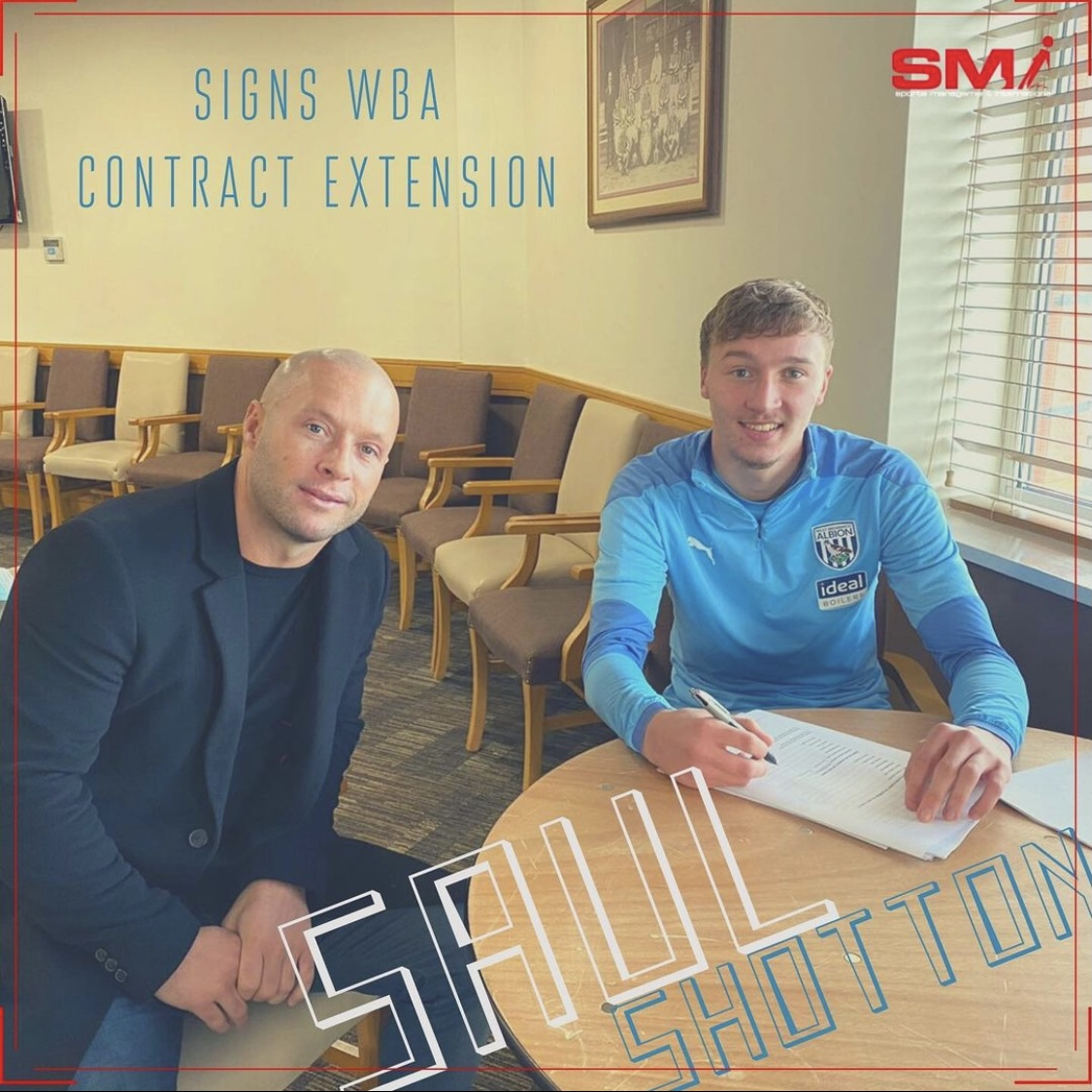 New contract for Saul Shotton at WBA