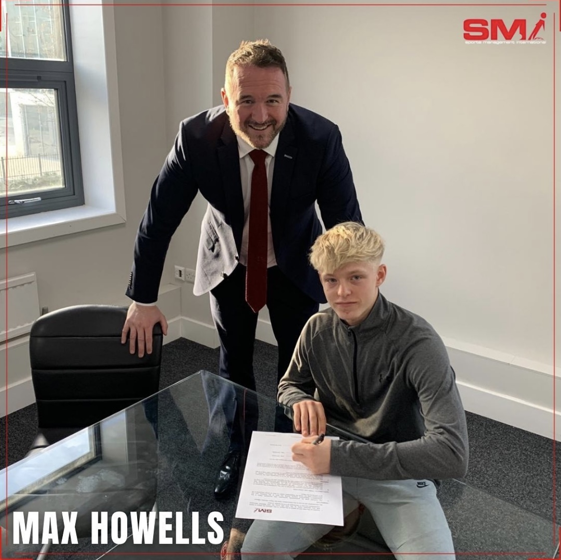 SMI Newest recruit Max Howells