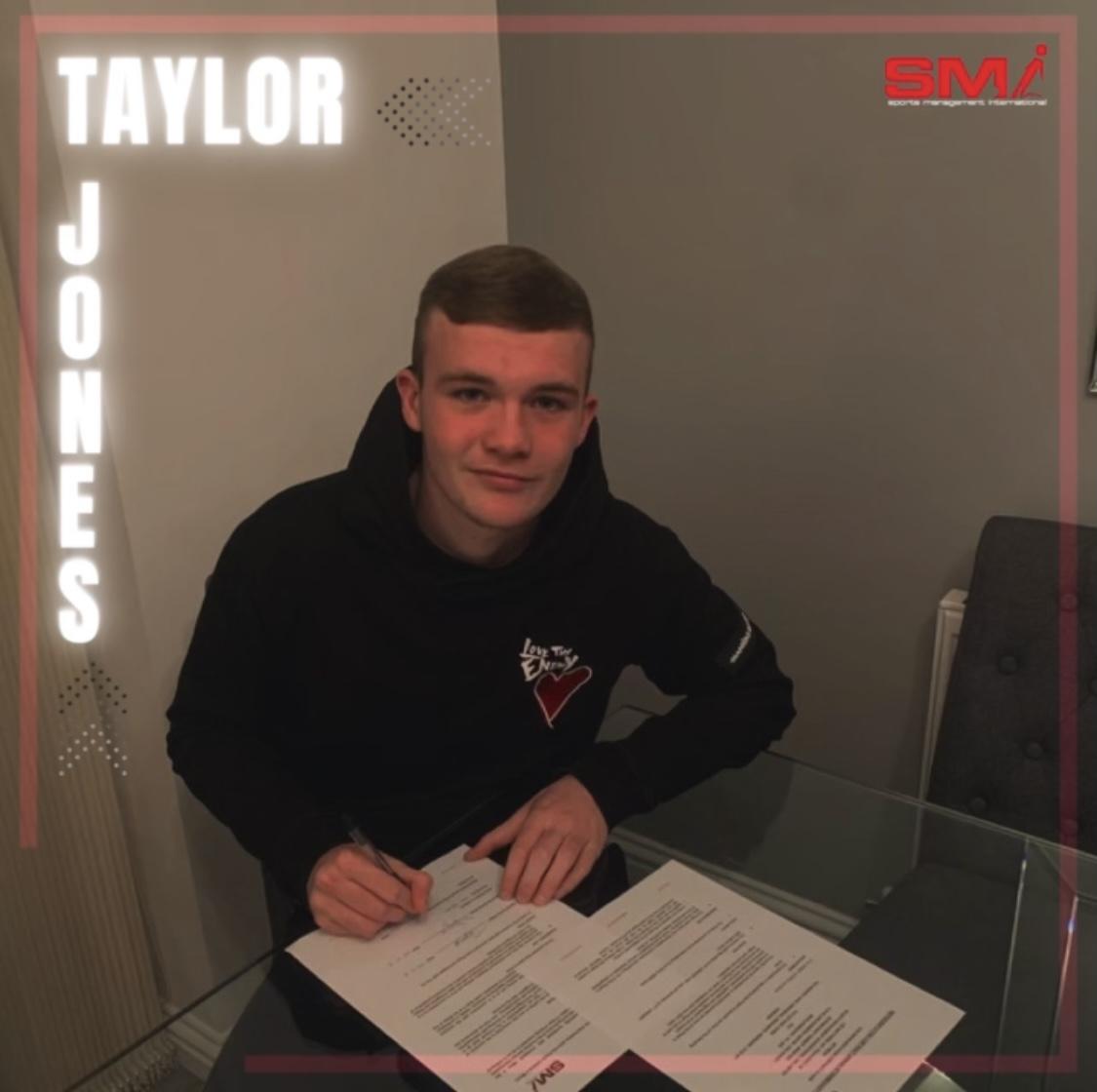 SMI New Recruit Taylor Jones