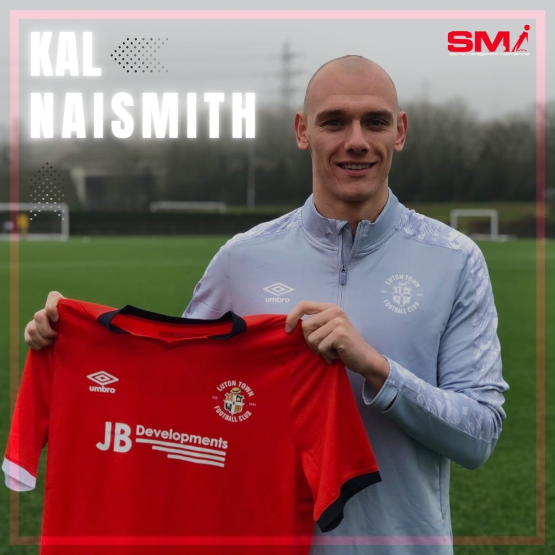 Kal Naismith signs for Luton Town