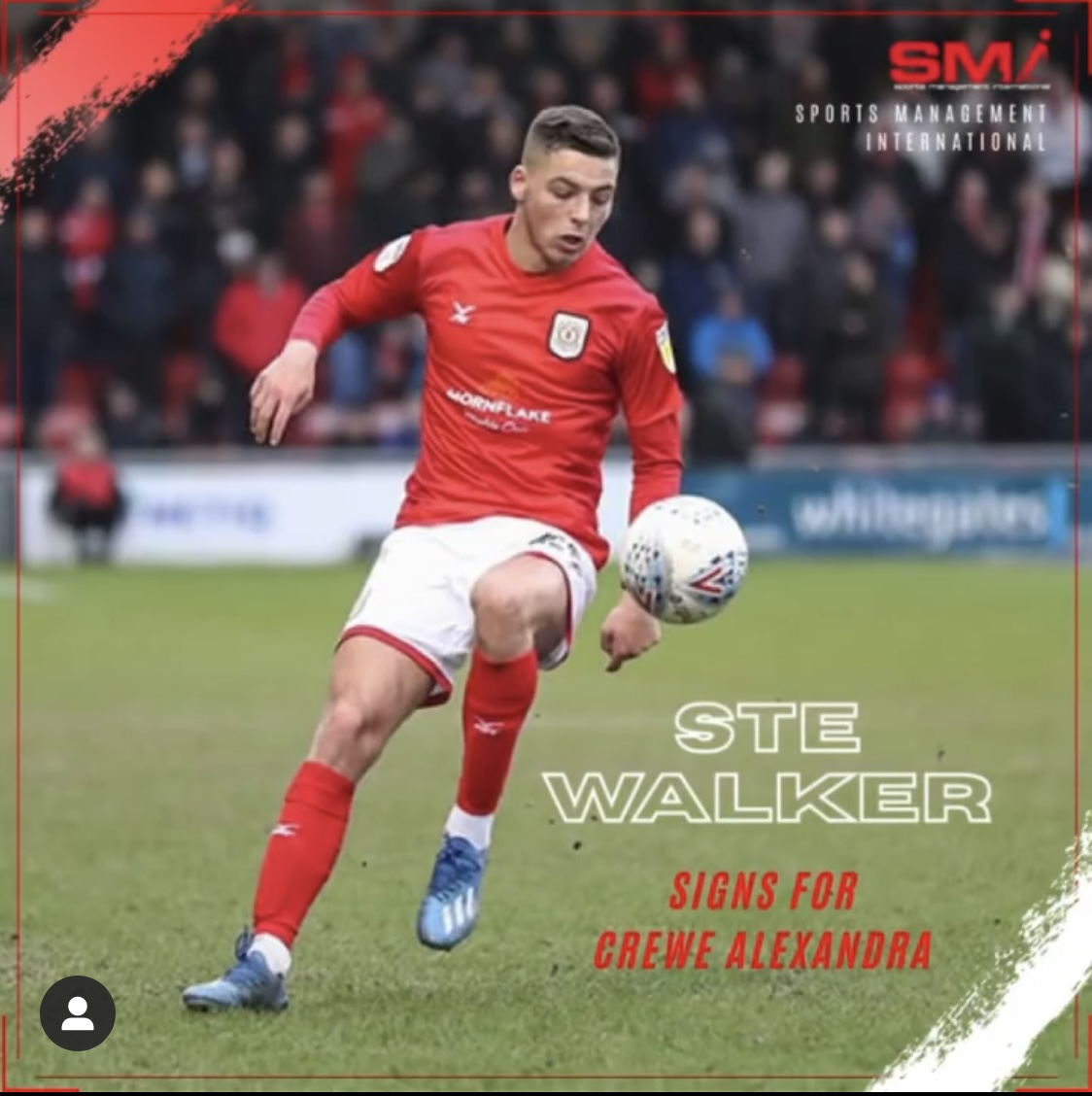Ste Walker re-joins Crewe on loan