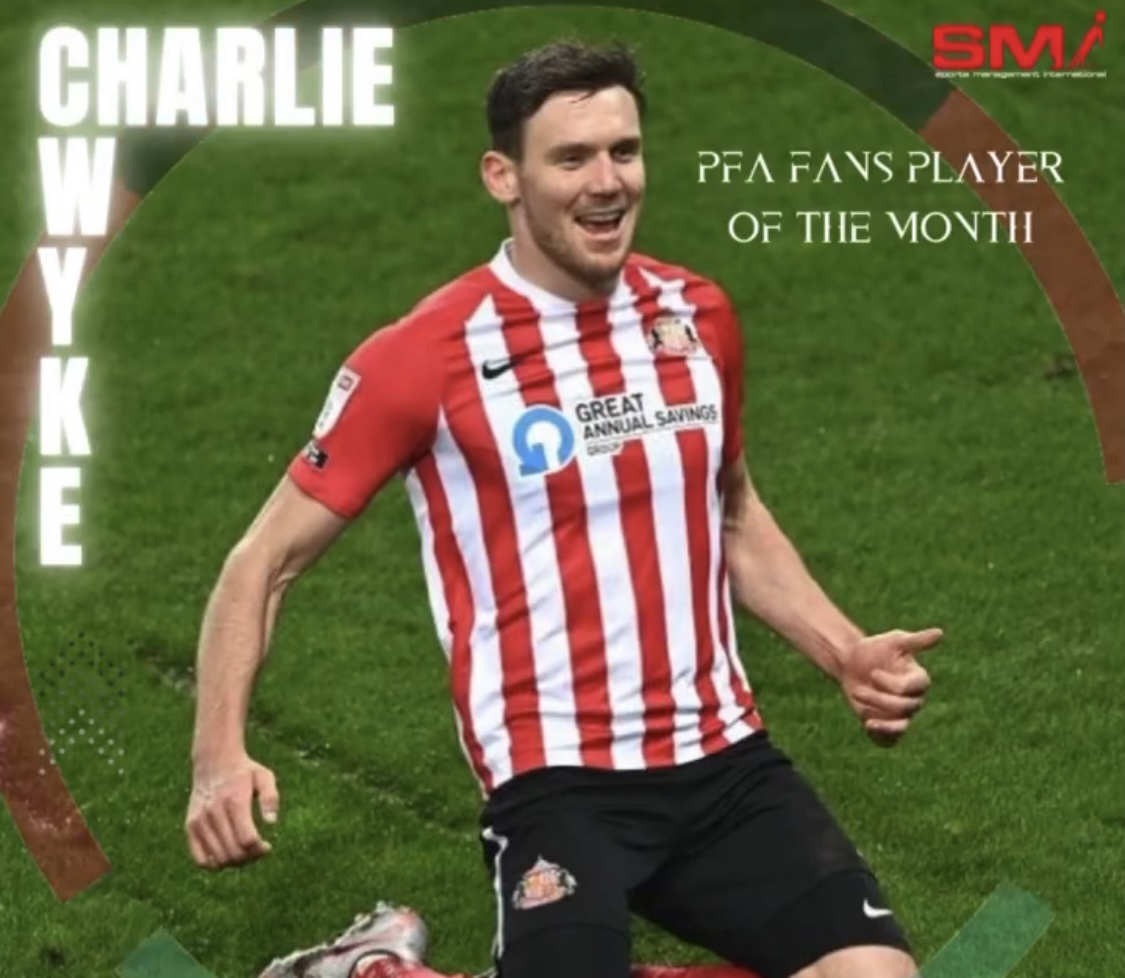 Fans PFA player of the month Charlie Wyke