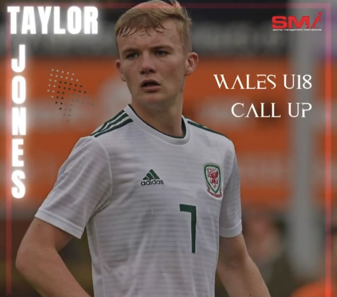 Wales u18 call up for Taylor Jones