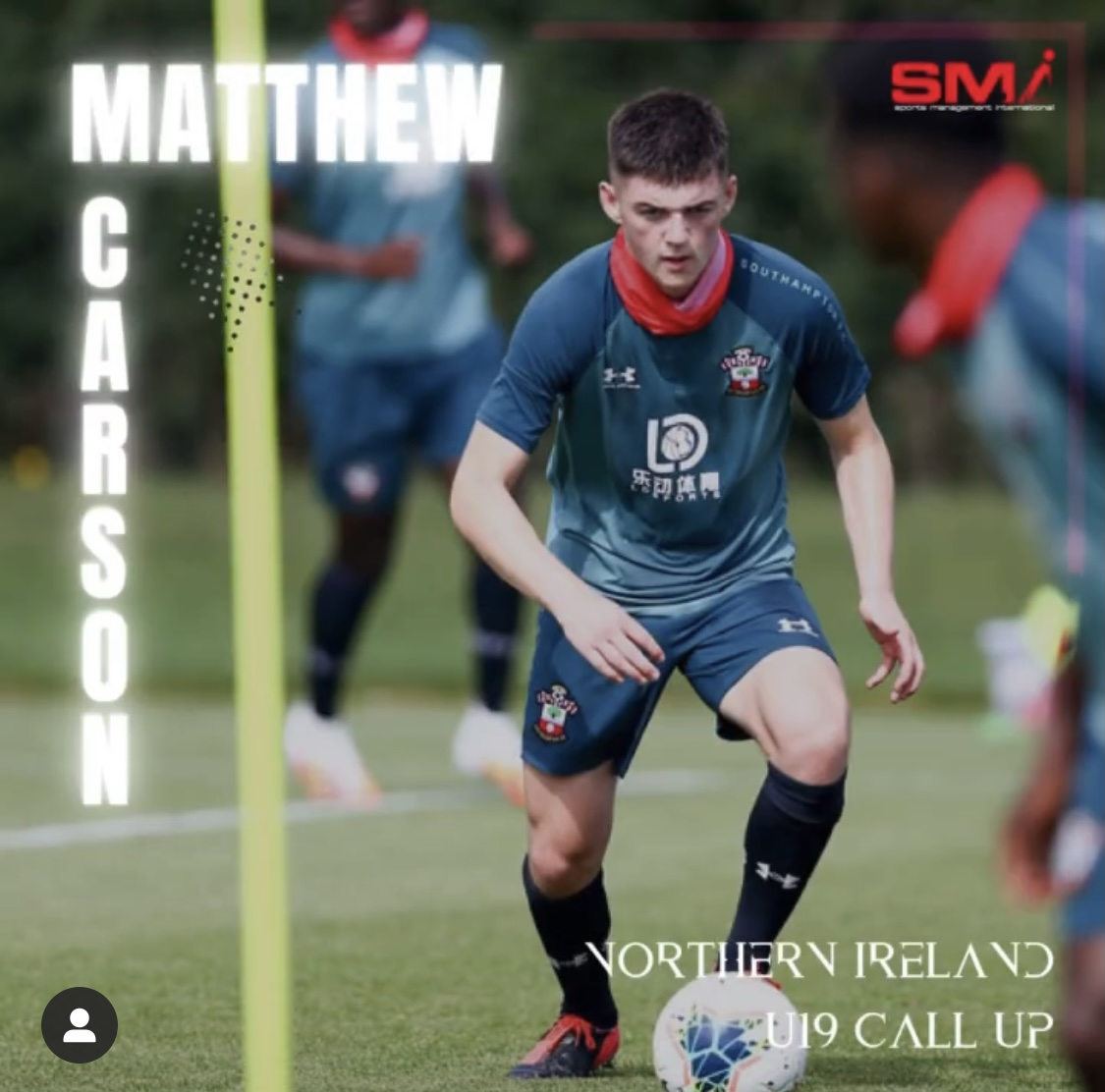 Matthew Carson Northern Ireland u19 call up