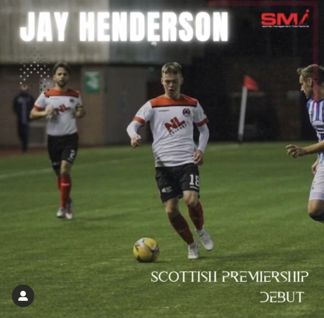 Jay Henderson makes his SPFL debut