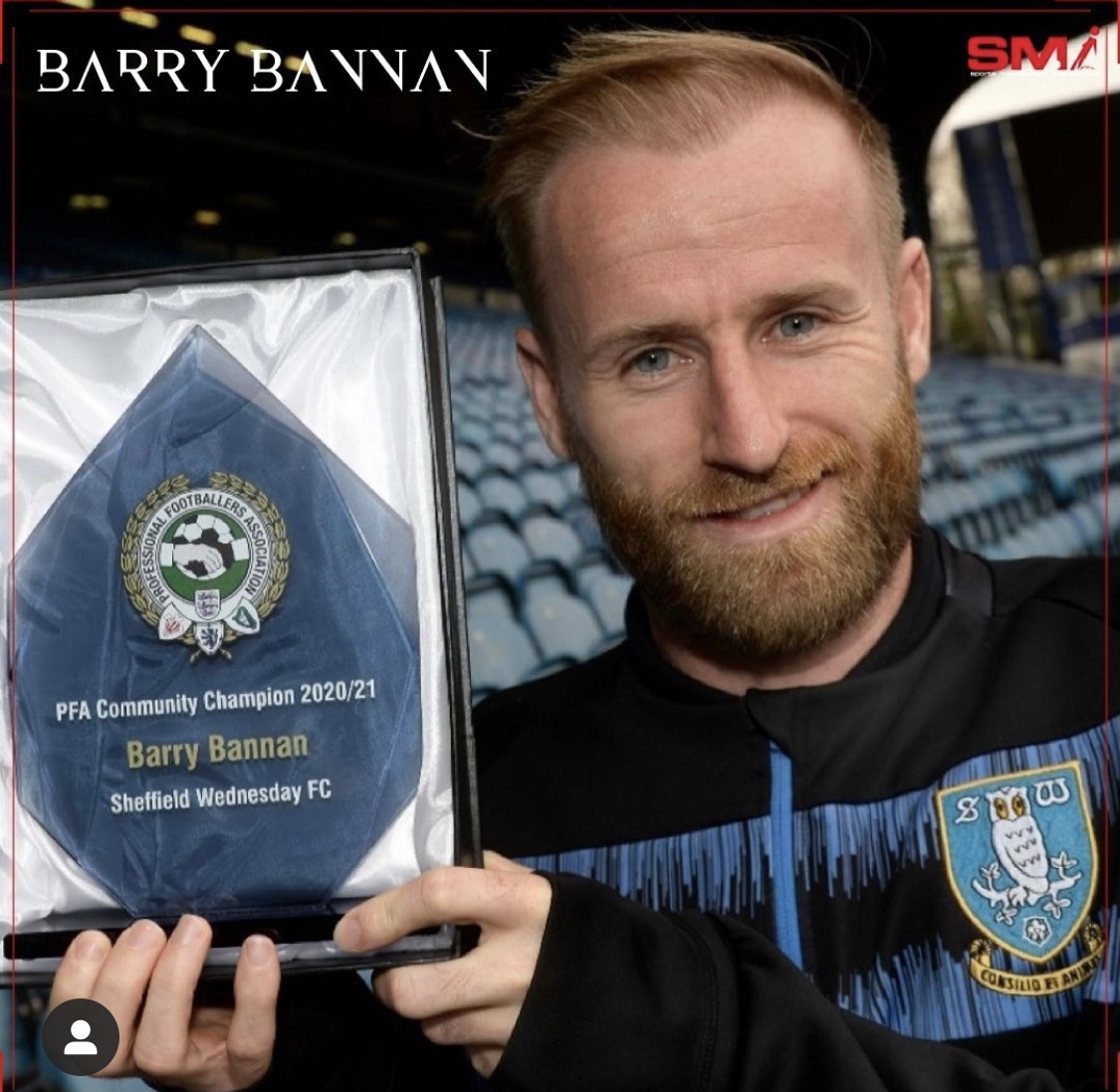 Barry Bannan Community Player of the year