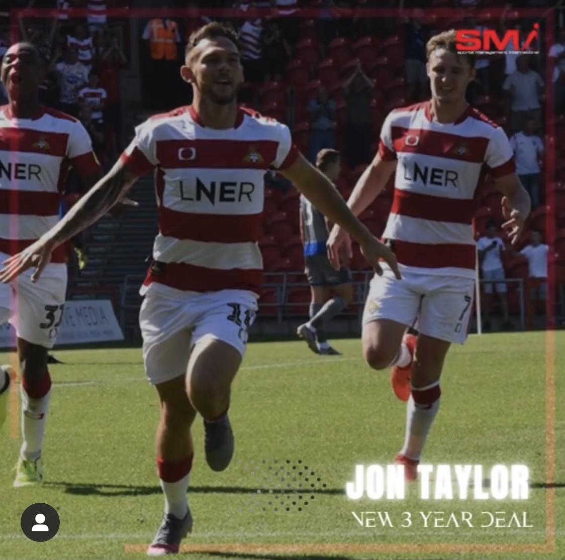 Jon Taylor new contract and PFA Award