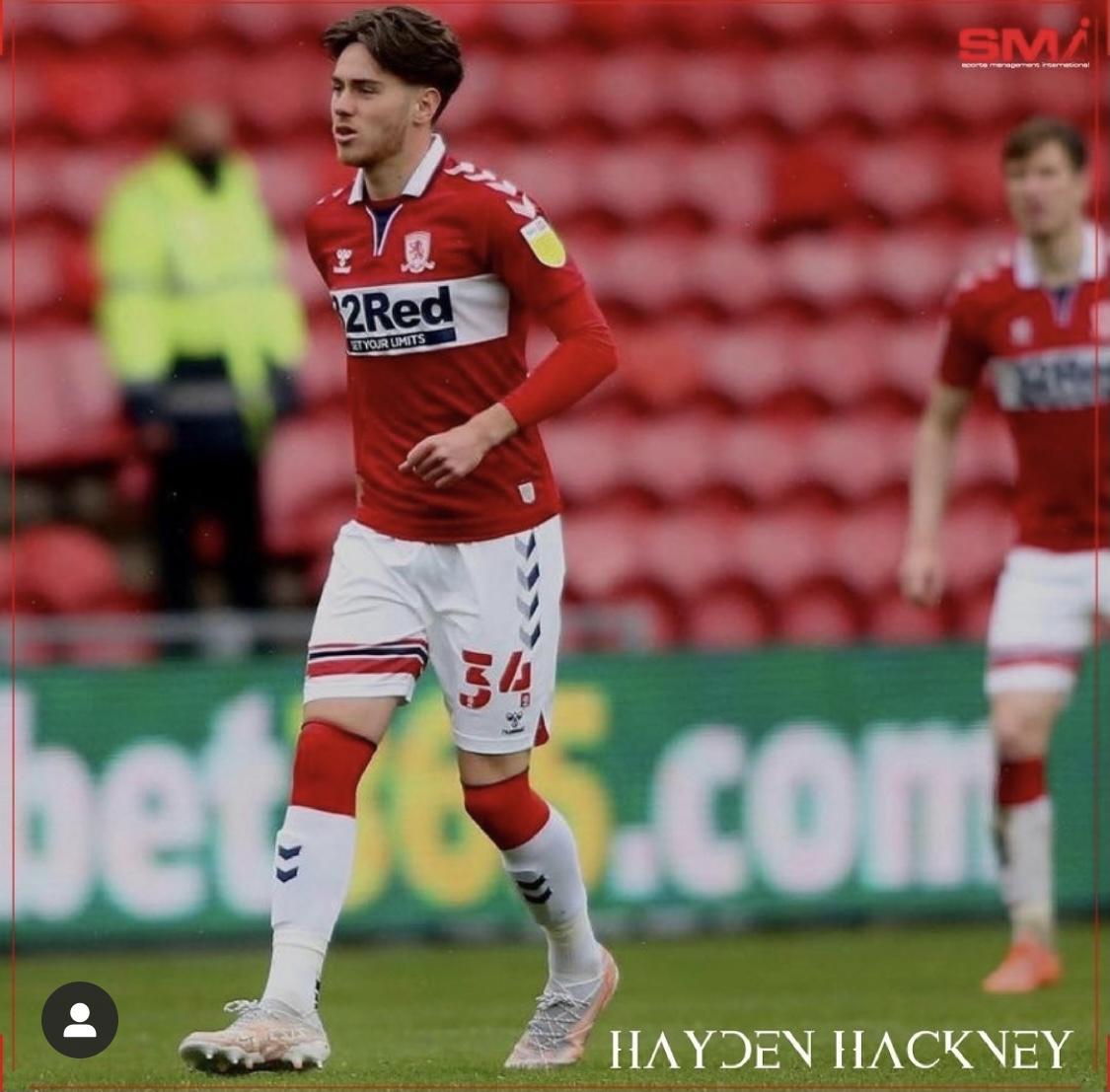 Hayden Hackney makes Boro debut