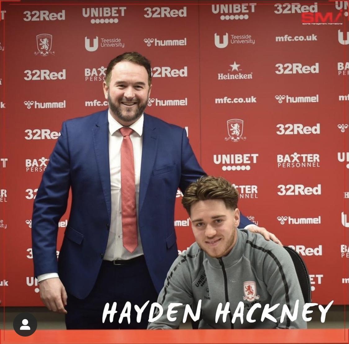 Hayden Hackney signs new deal