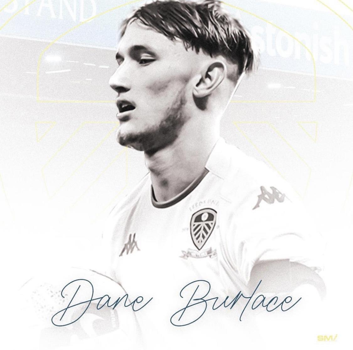 Dane Burlace our latest recruit