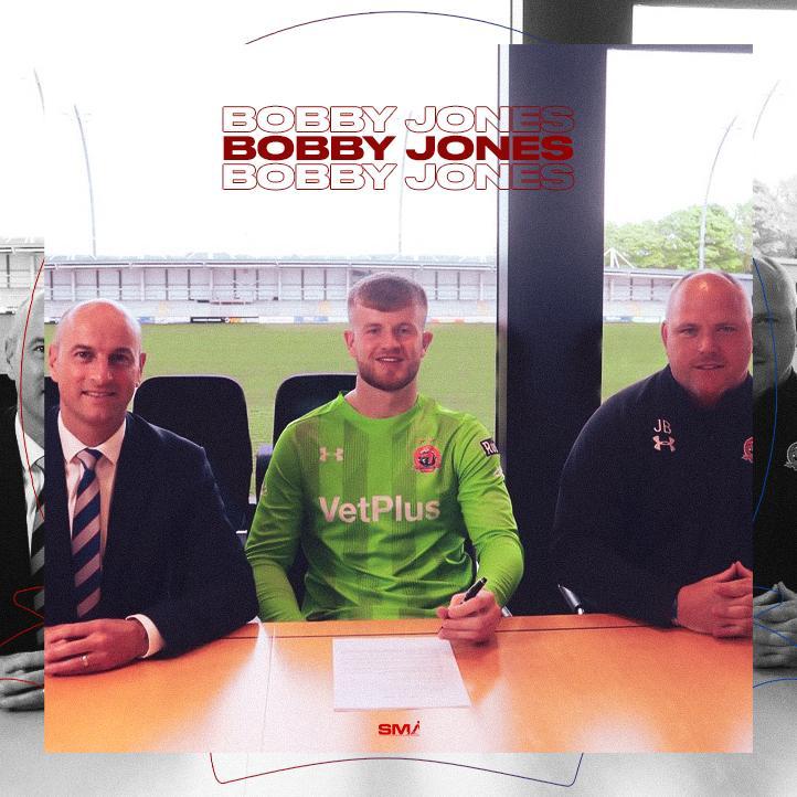Bobby Jones joins AFC Fylde