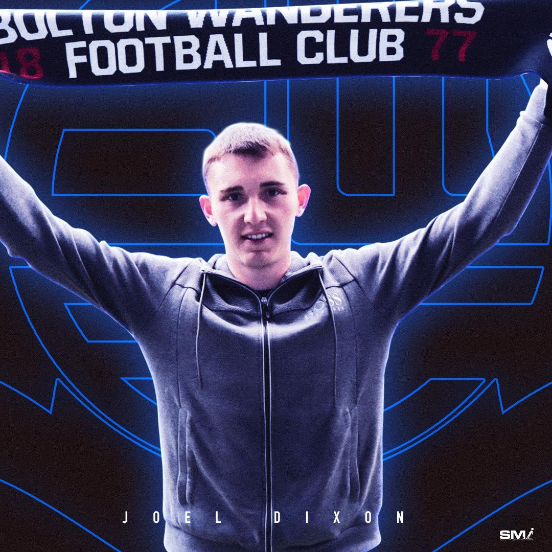 Joel Dixon joins Bolton Wanderers