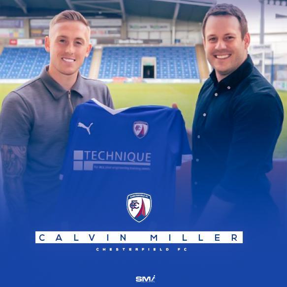 Calvin Miller joins Chesterfield