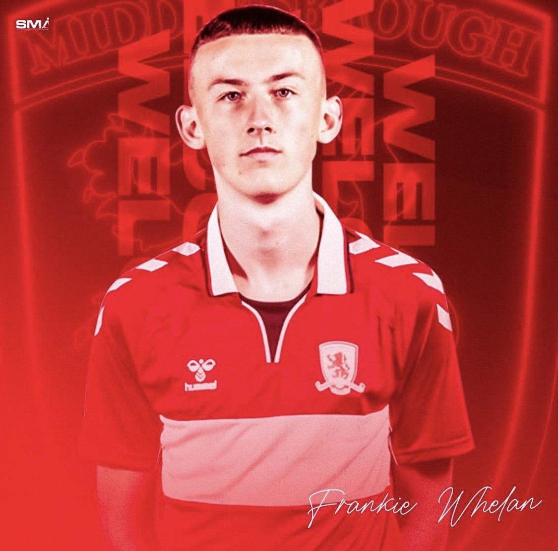 New recruit Frankie Whelan